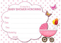 Free Printable Baby Shower Invitations   My Free Printable Cards.com