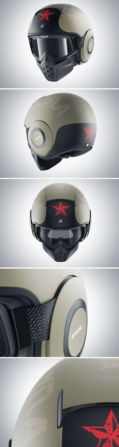 SHARK CGI Helmets on Wacom Gallery