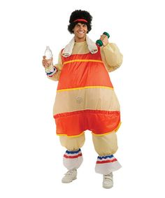 Love this Workout Guy Inflatable Costume Set - Men on #zulily! #zulilyfinds