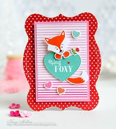 Hey Foxy Matchbox by Kay Miller for Papertrey Ink (December 2015)