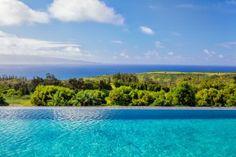 Kapalua Paradise Villa, Maui.  Luxury Rental on Maui.  #travel #hawaii #ttot