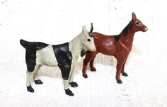 Early Putz Stick Legged Horse & Goat ~ SOLD