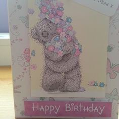 #Metoyou #Happybirthday card. Handmade  Follow me at www.facebook.com/stephanieshandmadecard