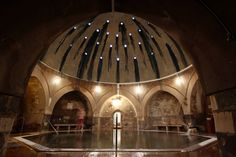 Kiraly Baths, Budapest. The best #spas in #Budapest by The #Italian Architect.