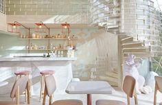 Sugar crystals | Dessert Bar | Bangkok, Thailand | Interior