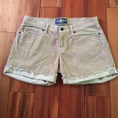 Lucky Corduroy Shorts Lucky Camel colored corduroy shorts. Never worn. Lucky Brand Shorts