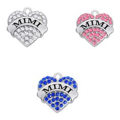 Find More Charms Information about Teamer Brand MIMI Love Heart Clear Crystal Charms Pendant for DIY Necklace Making Accessories,High Quality charm pendant,China crystal charms pendants Suppliers, Cheap crystal charms from Teamer Official Store on Aliexpress.com Diy Necklace Making, Mimi Love, Diy Jewelry Charms, Official Store, Love Heart, Jewelry Accessories, Charmed, Pendants