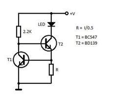 led constant current schematic