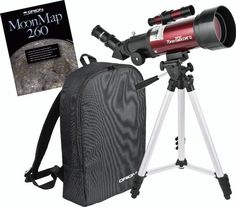 Orion 10034 GoScope II 70mm Refractor Travel Telescope Moon Kit (Burgundy) Discount - http://mydailypromo.com/orion-10034-goscope-ii-70mm-refractor-travel-telescope-moon-kit-burgundy-discount.html