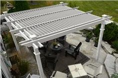Buy Camelot Louvered Pergola online with free shipping from thegardengates.com