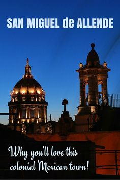 MEXICO | A mask museum? Botanical gardens? Yummy restaurants? Oh, and art galleries and gorgeous colonial architecture too? You'll love the colonial Mexican town of San Miguel de Allende!