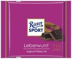 Ritter SPORT - Leberwurst