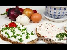 Domácí light lučina za pakatel - recept a videorecept Camembert Cheese, Eggs, Make It Yourself, Breakfast, Food, Youtube, Sandwich Spread, Morning Coffee, Essen