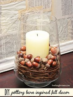 thanksgiving Decorating Ideas for Mantels | Thanksgiving Decorating Using Fall Finds