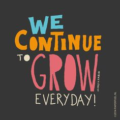 We continue to grow everyday! #lettering #handlettering #typography #graphic #paperfuel