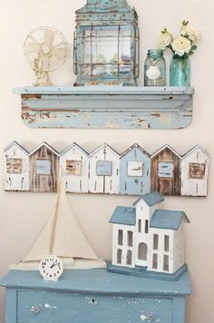 Coastal Style Homes Beach Cottage Style Tv Stand Junk Chic Cottage, Beach Cottage Style, Romantic Cottage, Beach Cottage Decor, Coastal Cottage, Shabby Chic Homes, Coastal Style, Cottage Farmhouse, Shabby Chic Beach