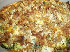 onopida, broccoli, ciuperci si branza la cuptor