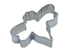 Use for cut-out cookies or making shapes in fondant, gumpaste or pie crusts.      Metal Cookie Cutter      Size: 3&qu