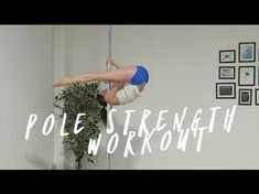 Pole Conditioning Exercises for Beginners - YouTube