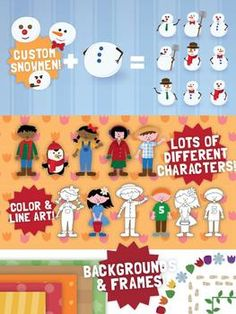 4 seasons clip art Bundle, 250 images!