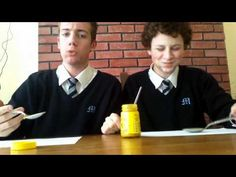 :The Mustard Challenge... an internet sensation for those who really LIKE IT HOT, one lad wins, can you guess who?: (be advised, Colman's does not recommend or endorse this challenge):