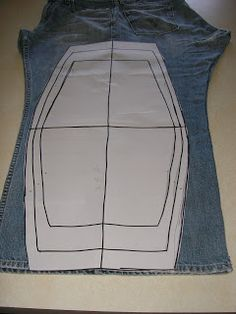 Lace the inner leg seam strip through the open edges of both chaps. Position them both from either edge of the middle and sew only those edges dow Clothing Patterns, Dress Patterns, Sewing Patterns, Sewing For Kids, Free Sewing, Bon Look, Sewing Leather, Look Chic, Moto Pants