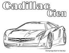 Resultado De Imagem Para Sports Car Coloring Pages