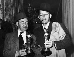 Barry Fitzgerald and Bing Crosby