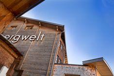 Die originelle Gestaltung des Hotels, gepaart mit seinem facettenreichen Angebot und der Erfüllung jeglicher Bedürfnisse machen das Hotel Bergwelt in Obergurgl zu einem absoluten Unikat. Hotel Berg, Das Hotel, Hotels, Neon Signs, Ski Trips, Alps