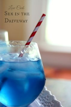 Low-Carb Cocktail ~ Sex in the Driveway Cocktail | Sofbal14 | Copy Me That