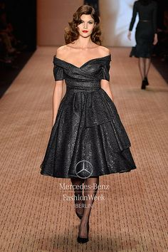 Mercedes-Benz Fashion Week Berlin - Focus On Fashion LENA HOSCHEK A/W 2014