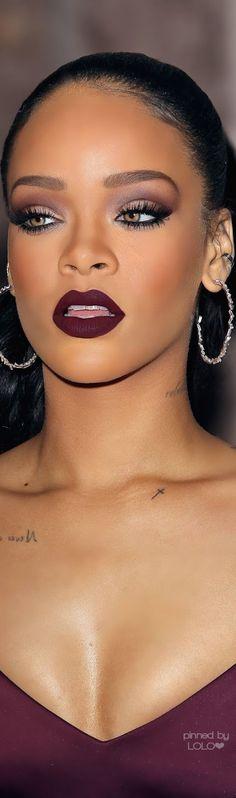 Love Rihanna's Smokey Eye Makeup Tutorial