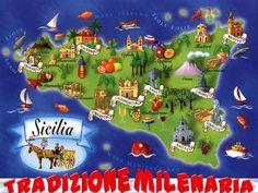 Caltagirone, City of Ceramics Dante Alighieri, Regions Of Italy, Catania, Mediterranean Sea, My Heritage, My Land, Wedding Website, Hand Painted, Ceramics