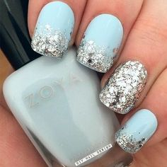 17 Winter Nail Designs and Nail Art Ideas to Brighten Up the Season 17 Winter Nail Designs & Silberglitter mit markantem Akzentnagel. The post 17 Winter Nail Designs und Nail Art Ideen, um die Saison aufzuhellen & Nails appeared first on Nail designs . Diy Nail Designs, Winter Nail Designs, Nail Designs For Toes, Summer Pedicure Designs, Pedicure Summer, Cute Easy Nail Designs, Accent Nail Designs, Holiday Nail Designs, Nail Polish Designs