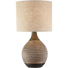 360 Lighting Mid Century Modern Accent Table Lamp Brown Ceramic Drum Shade Living Room Bedroom Bedside Nightstand Office Family : Target Brown Table Lamps, Mid Century Modern Living Room, Mid Century Modern Design, Mid Century Modern Lamps, Light Bulb Wattage, Drum Shade, My Living Room, Lamp Light, House