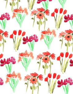 Bouquet VII #pattern #flowers