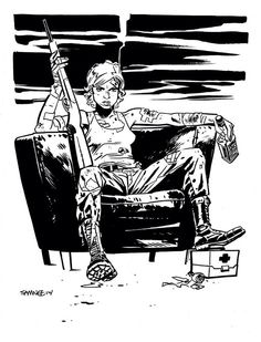 Queen & Country's Tara Chace by Chris Samnee