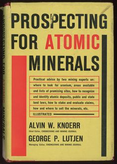 prospecting for atomic minerals (1955)