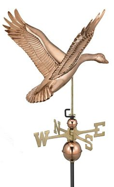 Goose Weathervane  By Good Directions Products USA