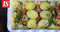 Kylmäsavulohikiusaus - Reseptit - Ilta-Sanomat Avocado Toast, Camembert Cheese, Good Food, Fun Food, Potato Salad, Mashed Potatoes, Food And Drink, Breakfast, Ethnic Recipes