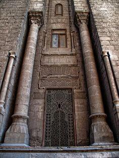 al-rifa'i mosque - cairo 1869 by marleis