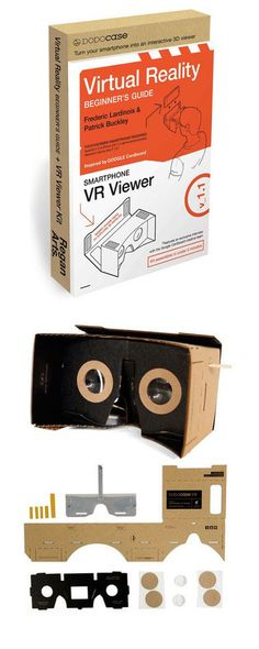 The Virtual Reality Beginner's Guide offerings readers a fundamental breakdown of what virtual reality is and how you can start using it now. Virtual Reality Education, Augmented Virtual Reality, Cardboard Viewer, Wearable Technology, Cool Tech, Tech Gifts, Tech Gadgets, Gift Guide, Virtual Reality