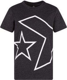 Converse Boys Outlined Star Chevron Logo T-Shirt