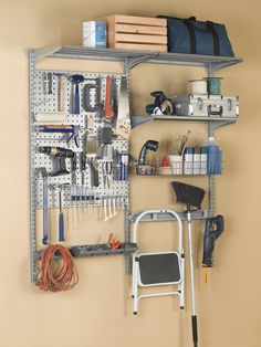 Triton 1740 Storability Garage Wall Mounted Storage System At Lowe S Canada Find Our Selection Of Organization The Lowest Price