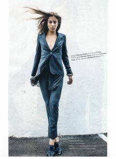 #Elle #Slovenia #October Issue #Paris #Oxford