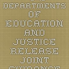 """""""U.S. Departments of Education and Justice Release Joint Guidance to Ensure English Learner Students Have Equal Access to High-Quality Education"""" -- Information regarding educating ELLs, published on 1/7/15."""