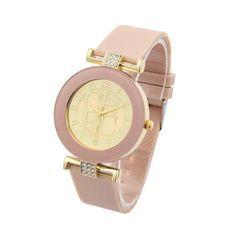 שעון יד משובץ אבני קריסטל