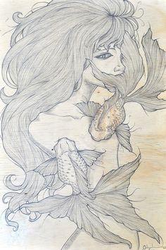 Dream of Aquarius by Jadyn Chen, via Behance