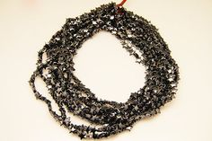 1strand  natural hematite plain star sized 8mm by 3yes on Etsy