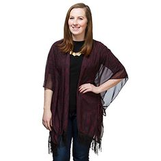 Our favorite thing about this Jedi Kimono Cardigan is the color. Perfect for layering, this piece allows you to show off your fandom subtly and elegantly.